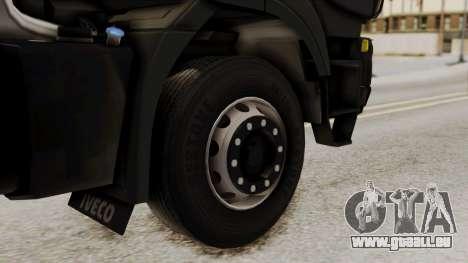 Volvo Truck from ETS 2 pour GTA San Andreas sur la vue arrière gauche