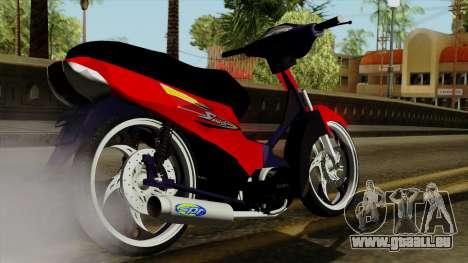 Gilera Smash pour GTA San Andreas laissé vue