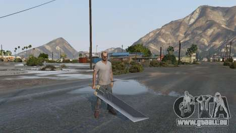 Buster Sword pour GTA 5