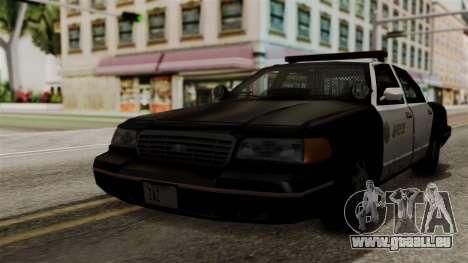 Ford Crown Victoria LP v2 Sheriff für GTA San Andreas