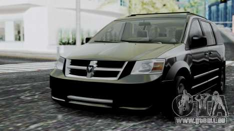 Dodge Grand Caravan 2010 für GTA San Andreas