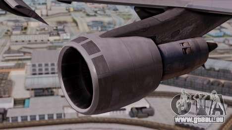Boeing 747-100 British Overseas Airways pour GTA San Andreas vue de droite