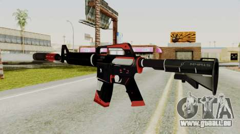 M4A1-S Cyrex pour GTA San Andreas deuxième écran