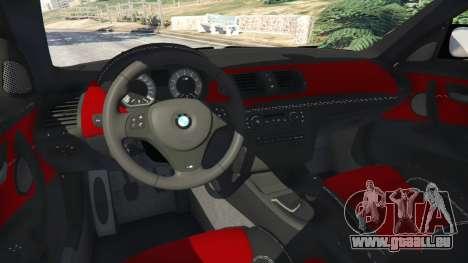 GTA 5 BMW 1M v1.1 hinten rechts