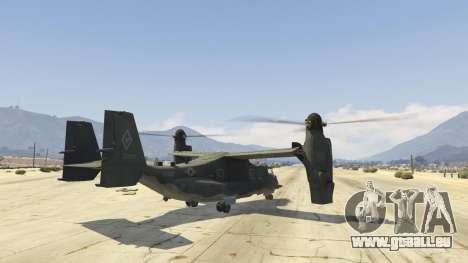 GTA 5 CV-22B Osprey (VTOL) dritten Screenshot