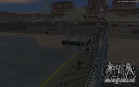 Nouvelle Base Militaire v1.0 pour GTA San Andreas dixième écran