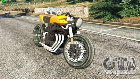Honda CB 1800 Cafe Racer Paint pour GTA 5