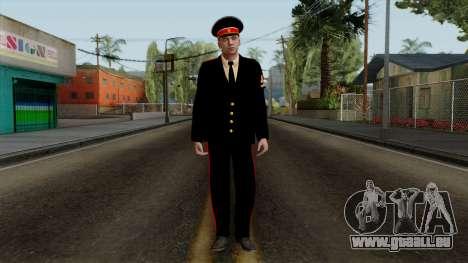Vize-Feldwebel Kazan VCA-v2 für GTA San Andreas zweiten Screenshot