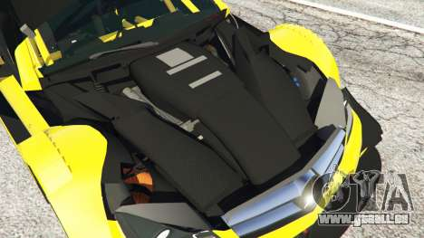 GTA 5 Mercedes-Benz C204 AMG DTM 2013 rechte Seitenansicht