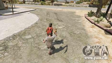 GTA 5 Krummsäbel aus Skyrim fünfter Screenshot