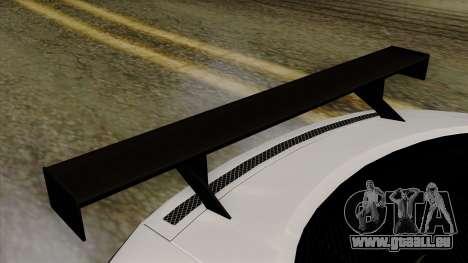 Audi R8 v1.0 Edition Liberty Walk pour GTA San Andreas vue arrière