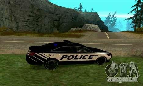 Federal Police Ford Taurus HSO für GTA San Andreas linke Ansicht