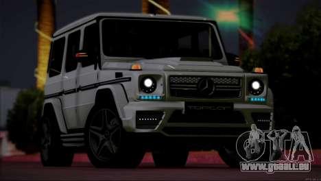 Mercedes Benz G65 AMG 2015 Topcar Tuning pour GTA San Andreas