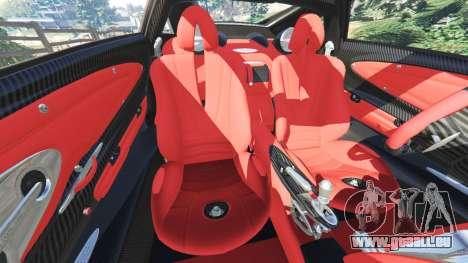 Pagani Huayra pour GTA 5