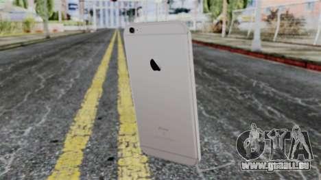 iPhone 6S Space Grey pour GTA San Andreas troisième écran