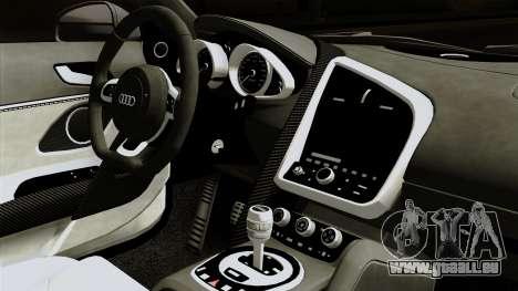 Audi R8 v1.0 Edition Liberty Walk pour GTA San Andreas vue de droite
