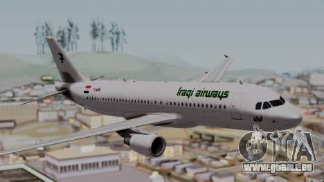 Airbus A320-200 Iraqi Airways für GTA San Andreas