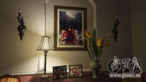 Anime-Poster für zu Hause Michael für GTA 5
