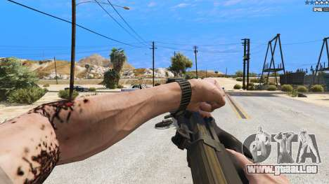 GTA 5 P-90 из Battlefield 4 Siebter Screenshot