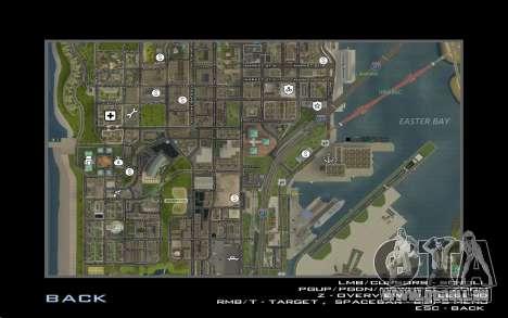 HD-Karte für Diamondrp für GTA San Andreas