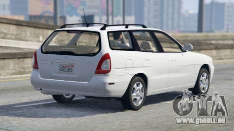 GTA 5 Daewoo Nubira Wagon je NOUS 1999 - version FINAL vue latérale gauche