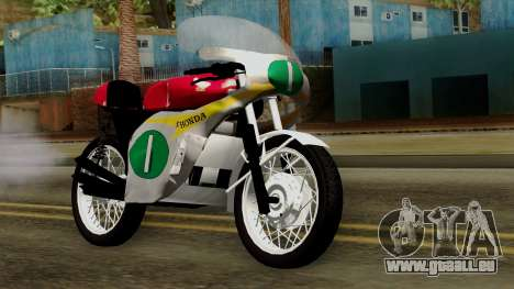 Honda RC166 v2.0 World GP 250 CC für GTA San Andreas