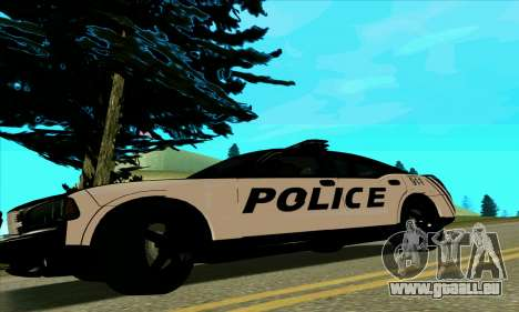 Federal Police Dodge Charger SRT8 für GTA San Andreas linke Ansicht