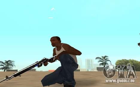 Fusil avec un bébé tigre pour GTA San Andreas quatrième écran