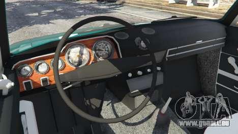 GTA 5 VAZ-2106 v0.2 arrière droit vue de côté