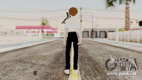 Shinji Ikari (Evangelion) für GTA San Andreas dritten Screenshot