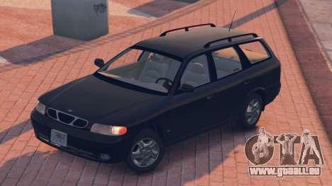 GTA 5 Daewoo Nubira Wagon je NOUS 1999 - version FINAL arrière vue latérale gauche