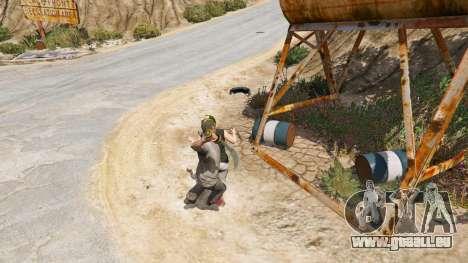 GTA 5 Krummsäbel aus Skyrim vierten Screenshot