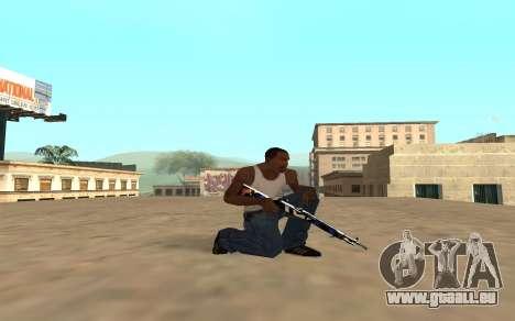 Fusil avec un bébé tigre pour GTA San Andreas