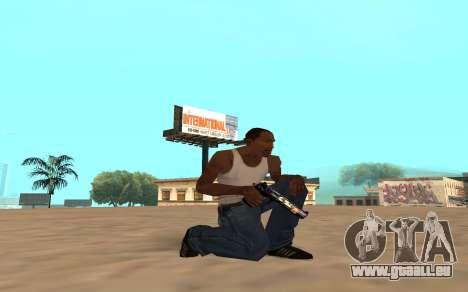 Desert Eagle avec un bébé tigre pour GTA San Andreas quatrième écran