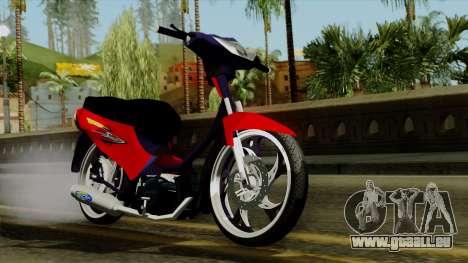 Gilera Smash pour GTA San Andreas