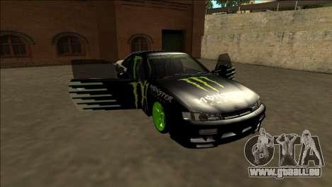 Nissan 200SX Drift Monster Energy Falken für GTA San Andreas