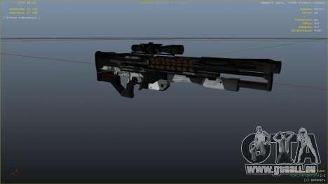 M2014 Gauss Rifle из Crysis 2 pour GTA 5