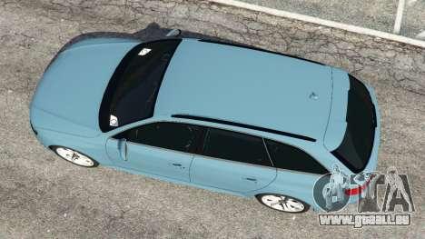 GTA 5 Audi A4 Avant 2013 vue arrière