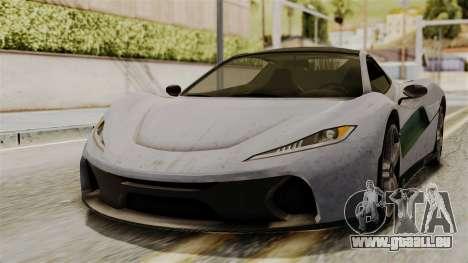 GTA 5 Progen T20 SA Style pour GTA San Andreas