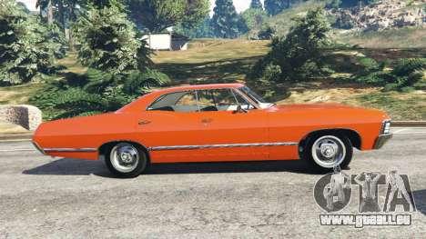 GTA 5 Chevrolet Impala 1967 vue latérale gauche