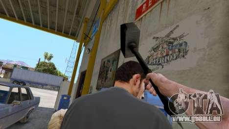 GTA 5 Hammer Shao Kahn aus Mortal Kombat vierten Screenshot