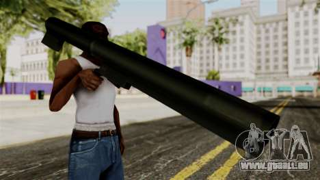 Light-AntiTank-Weapon from Delta Force pour GTA San Andreas troisième écran