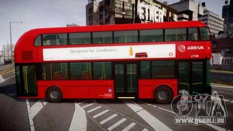 Wrightbus New Routemaster Arriva pour GTA 4 est une gauche