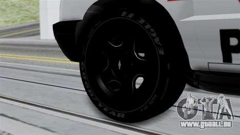Chevrolet Blazer 2010 für GTA San Andreas zurück linke Ansicht