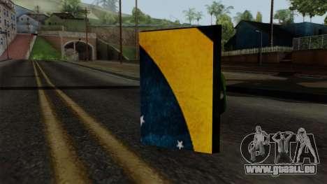 Brasileiro Satchel v2 pour GTA San Andreas deuxième écran