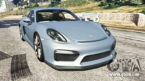 Porsche Cayman 2016 pour GTA 5