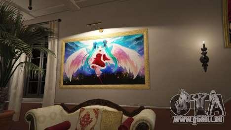 Anime des affiches pour la maison Michael pour GTA 5