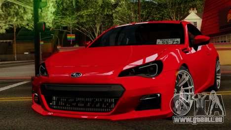 Subaru BRZ 2010 für GTA San Andreas