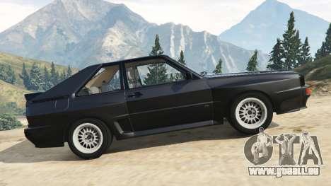 GTA 5 Audi Sport quattro v1.2 linke Seitenansicht