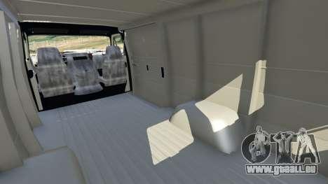 GTA 5 Chevrolet G20 Van droite vue latérale